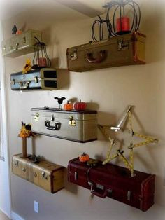 Creative ways of reusing old suitcases | Just Imagine - Daily Dose of Creativity