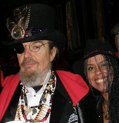 The Horrors of American Horror Story Coven: A Voodoo Priestess' Perspective. I love this photo of Dr. John and me ! #voodoo #americanhorrorstory