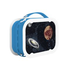 SPACE (design 4) ~ Lunch Box Please do NOT hesitate to contact me if you would like any of my designs on a specific product.  (AKA: Artmatrix!) Follow John Ocasio, the Artmatrix, on facebook: https://www.facebook.com/John.Ocasio.Artist Original paintings can be found for sale through my Amazon store at: http://www.amazon.com/shops/artmatrix Zazzle designs: http://www.zazzle.com/thewhippingpost?rf=238063263784323237