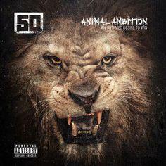 """50 Cent's neues Album """"ANIMAL AMBITION"""" kommt Ende Mai in die Läden."""