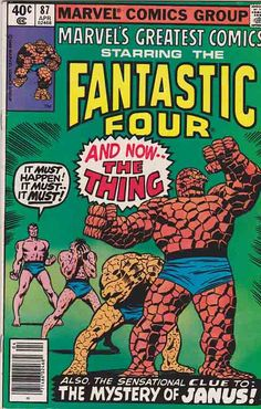 Marvel's Greatest Comics #85. Story by Stan Lee and Artwork by John Buscema. And Now... the Thing!