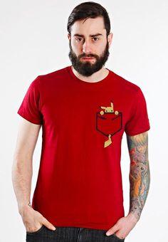 Playera o Camiseta Goku Bolsillo Dragon Ball c41c60d051884
