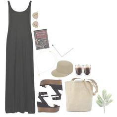 Casual Summer Oufit. Maxi Dress