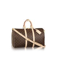 Discover Louis Vuitton Keepall Bandoulière 45 via Louis Vuitton