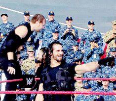 Wwe Seth Rollins, Seth Freakin Rollins, Roman Reigns Shield, Wwe Gifs, Daniel Bryan Wwe, Roman Reigns Dean Ambrose, Wwe Superstar Roman Reigns, Best Wrestlers, The Shield Wwe