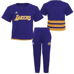 ee86d359975 Golden State Warriors Infant/Toddler Short Sleeve Shirt and Pants Outfit