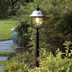 Farolillo Parma en acero inoxidable de diseño clásico.  Ref.: 5522143. ¡La iluminación que buscas está en Lampara.es!