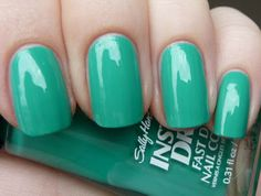 Sally Hansen Mint Sprint--Love this color!