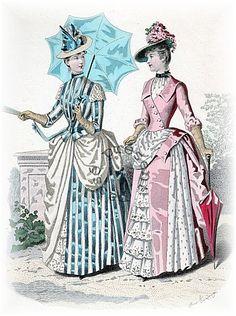 Fashion for woman, 1888                                                       …