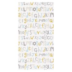 Tapeta Letters Play - LIL' KID - Łóżka dla dzieci   Meble dziecięce   Producent łóżek