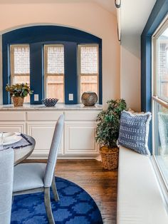 Perfect area for serving and entertaining! Bloomfield Homes, Kitchen Nook, Home Kitchens, Oversized Mirror, Entertaining, Furniture, Home Decor, Decoration Home, Room Decor