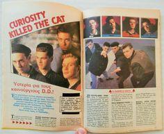 GREEK Magazin KATERINA_CURIOSITY KILLED THE CAT_T.CRUISE_CATHERINE OXENBERG_1987