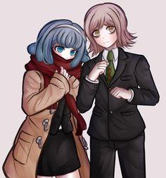 Miaya Gekkougahara and Ryouta Mitarai.