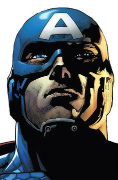 Captain America by Leinil Yu