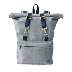 Desmond Roll Top Backpack - Sewing Pattern