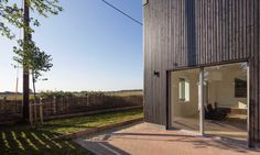 """""""We have aimed to create a house that is on the cutting edge of sustainable design, yet eschews the hair-shirt approach to sustainable living that many people think of when considering environmentally friendly homes,"""" Gresford Architects said."""