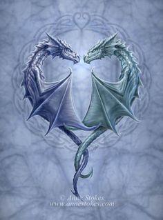 Couple tattoo Left Arm, Right Arm interlocking Dragons