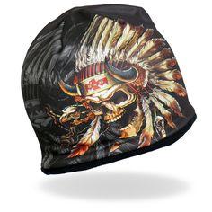 Sublimation Forever Free Roses Black White Biker Stocking Skull Cap Beanie Rider