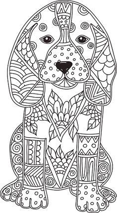 Dog Adult antistress or children coloring page. Dog adult antistress or children coloring page. Lizenzfreies dog adult antistress or children coloring page stock vektor art und mehr bilder von abstrakt Dog Coloring Page, Printable Adult Coloring Pages, Animal Coloring Pages, Coloring Pages To Print, Coloring Book Pages, Coloring Pages For Kids, Colouring For Adults, Doodle Coloring, Coloring Sheets