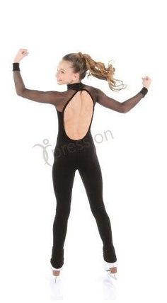 New SKATING CATSUIT Velvet MESH SLEEVES XPRESSION 1656 From stock up to 2 weeks #ELITEXPRESSION New Skate, Unitards, Figure Skating Costumes, Figure Skating Dresses, Catsuit, Dress Ideas, Jumpsuits, Velvet, Sleeves
