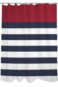 kate spade new york Harbour Stripe Shower Curtain Curtain