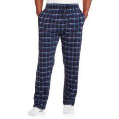 Hanes Men's Printed Knit Sleep Pant, Size: XL, Blue