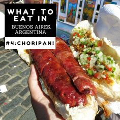 #4 CHORIPAN at Feria San Telmo: The Ultimate Guide to What to Eat & Where in Buenos Aires, Argentina  l @tbproject