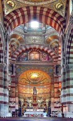 Notre-Dame de la Garde, Marseilles  Marselha, Provença-Alpes-Costa Azul, França