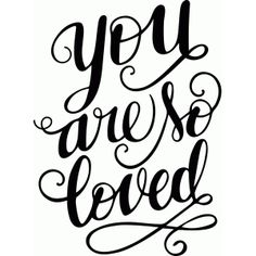 Silhouette Design Store - View Design #92049: you are so loved
