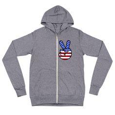American Peace - Unisex zip hoodie #hoody #sweater #WomenHoodie #MenHoodie #spring #hoodie #MenHoody #summer #WomenHoody #america Hoody, Hoodie Jacket, Zip Hoodie, Undertale Shirt, Monogram Pullover, Hypebeast, Peace, Unisex