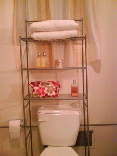 3-shelf over the toilet organizer