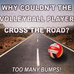 This may be cheesy, but we love a good Volleyball joke!