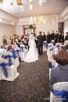 Bride and groom held their wedding ceremony in the Parisienne Room at the Ramada Toms River, NJ. It looks gorgeous! www.VersaillesCaterers.com. Photo courtesy of Brian Delia Photography. #wedding #bride #groom #marriage #weddingflowers #NJWeddings #weddingvenue #TomsRiver #NewJersey #VersaillesBallroom #banquetfacility #njbrides