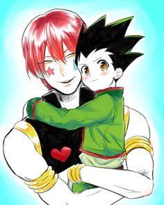 Hisoka and gon Freecs