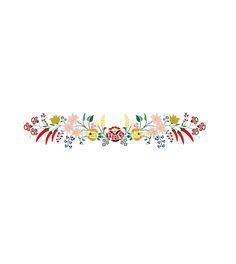Kalocsai floral motifs
