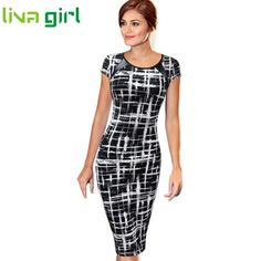 Work Bandage Bodycon Short Sleeve Dress Women Sexy Party Cocktail Pencil Knee Length Dresses Lady Skinny Vestido Banquet Dec288 #jewelry, #women, #men, #hats, #watches