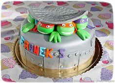 turtles ninja cake