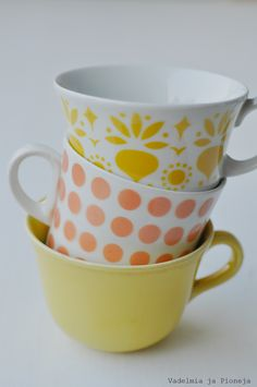 Vintage Cups, Retro Vintage, Good Old Times, My Tea, Retro Home, Live Long, Retro Design, Finland, Coffee Cups
