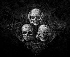 SlimSkulls — dark-recesses-of-the-soul:     ☽ dark, horror,...