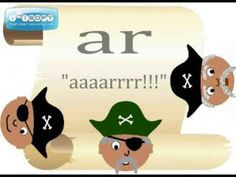 Want to master those r-controlled spelling patterns? Have your students sing this pirate song and I promise you that they won't forget it! This is useful for students in the primary and intermediate grades. Phonics Videos, Phonics Song, Phonics Words, Reading Workshop, Reading Skills, Teaching Reading, Learning, First Grade Phonics, First Grade Reading