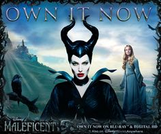 Today you can own Maleficent on Blu-ray and Digital HD! http://di.sn/rhf