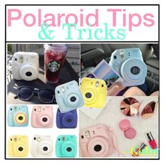 Polaroid Tips and Tricks ~ Gaby by the-tip-shoppe