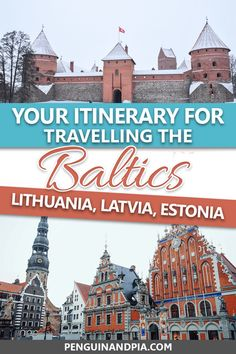 baltic Planning on travelling the Baltics? There is tons to see in Lithuania, Latvia, and Estonia - and we walk you through a sample Baltic itinerary since we've been there before! Packing For Europe, Backpacking Europe, Europe Travel Guide, Europe Destinations, Travel Guides, Packing Lists, Travel Deals, Travel Hacks, Travel Packing