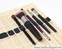 brush organizer, how to make brush organizer, brush holder, organize home,
