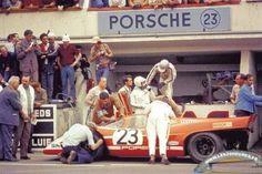 Hans Herrmann et Richard Attwood 917K 24H du Mans 1970