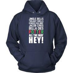 Harry Potter - Jingle Bells Twilight Smells Potter- Unisex Hoodie -TL00987HO