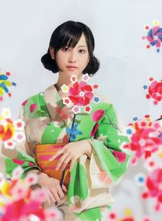 Rena Matsui:松井玲奈  japanese idol(SKE48 teamE/乃木坂46)  YUKATA.