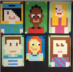 Minecraft selfies groep 8