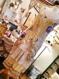 Gypsy Plantation romantic lagenlook prairie mori girl ruffled vintage look cotton  bloomers size XL 14-16. $39.00, via Etsy.