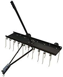Master Rancher Ytl 008 023 Tow Behind Dethatcher With 20 Teeth 70 Lbs Best Lawn Mower Rancher Spring Steel